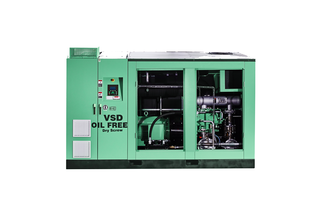 DS Series Oil Free Dry Screw Air Compressor